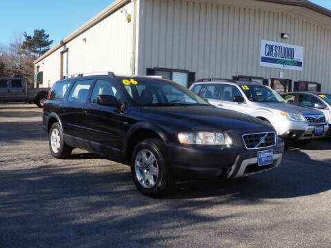 2006 Volvo XC70 for sale at Crestwood Auto Sales in Swansea MA