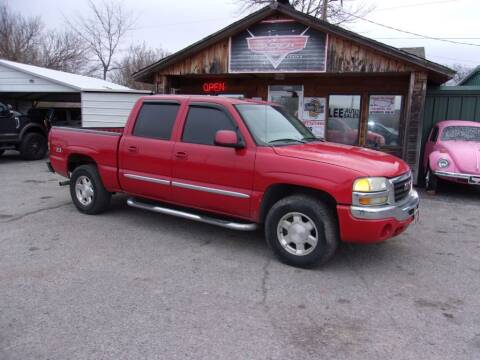 2005 GMC Sierra 1500 for sale at LEE AUTO SALES in McAlester OK