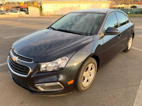 2015 Chevrolet Cruze for sale at Diana Rico LLC in Dalton GA