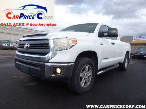 2015 Toyota Tundra for sale at CarPrice Corp in Murray UT