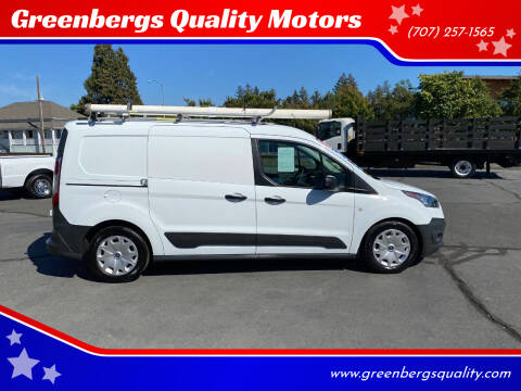 2017 Ford Transit Connect Cargo for sale at Greenbergs Quality Motors in Napa CA