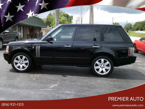 2004 Land Rover Range Rover for sale at Premier Auto in Independence MO