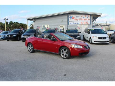 2007 Pontiac G6 for sale at My Value Car Sales - Upcoming Cars in Venice FL