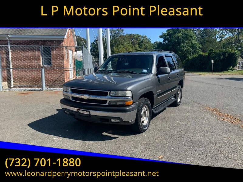 2001 Chevrolet Tahoe for sale at L P Motors Point Pleasant in Point Pleasant NJ