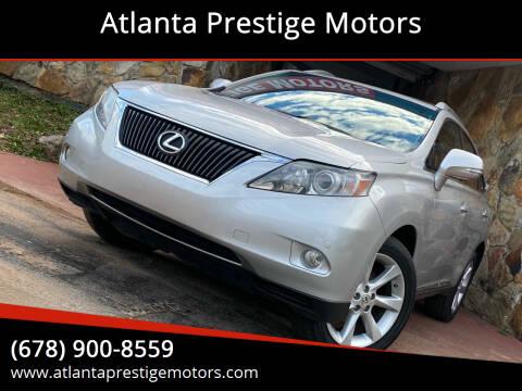 2010 Lexus RX 350 for sale at Atlanta Prestige Motors in Decatur GA