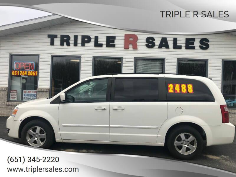 2008 Dodge Grand Caravan for sale at Triple R Sales in Lake City MN