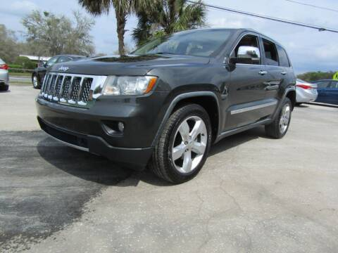2011 Jeep Grand Cherokee for sale at S & T Motors in Hernando FL