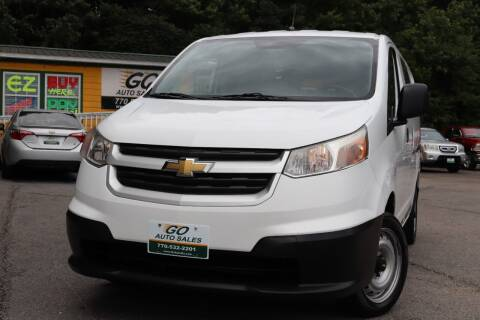 2016 Chevrolet City Express Cargo for sale at Go Auto Sales in Gainesville GA