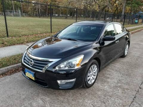 2015 Nissan Altima for sale at Amazon Autos in Houston TX