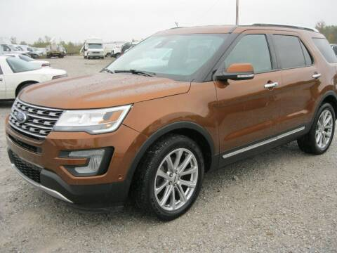 2017 Ford Explorer for sale at C H BURNS MOTORS INC in Baldwyn MS