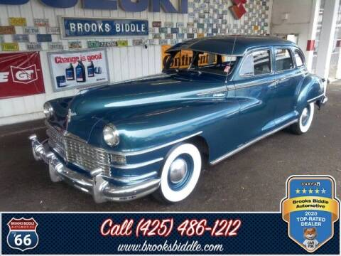 1947 Chrysler New Yorker for sale at BROOKS BIDDLE AUTOMOTIVE in Bothell WA