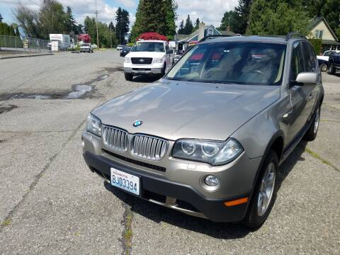 2007 BMW X3 for sale at Payless Car & Truck Sales in Mount Vernon WA