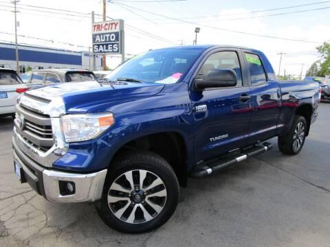 2015 Toyota Tundra for sale at TRI CITY AUTO SALES LLC in Menasha WI