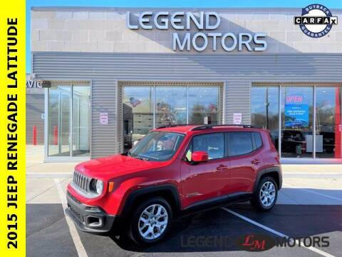 2015 Jeep Renegade for sale at Legend Motors of Detroit - Legend Motors of Waterford in Waterford MI