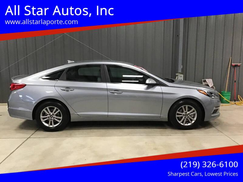2015 Hyundai Sonata for sale at All Star Autos, Inc in La Porte IN