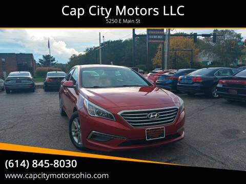 2015 Hyundai Sonata for sale at Cap City Motors LLC in Columbus OH
