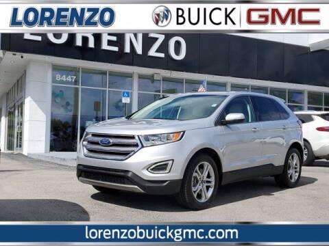 2018 Ford Edge for sale at Lorenzo Buick GMC in Miami FL