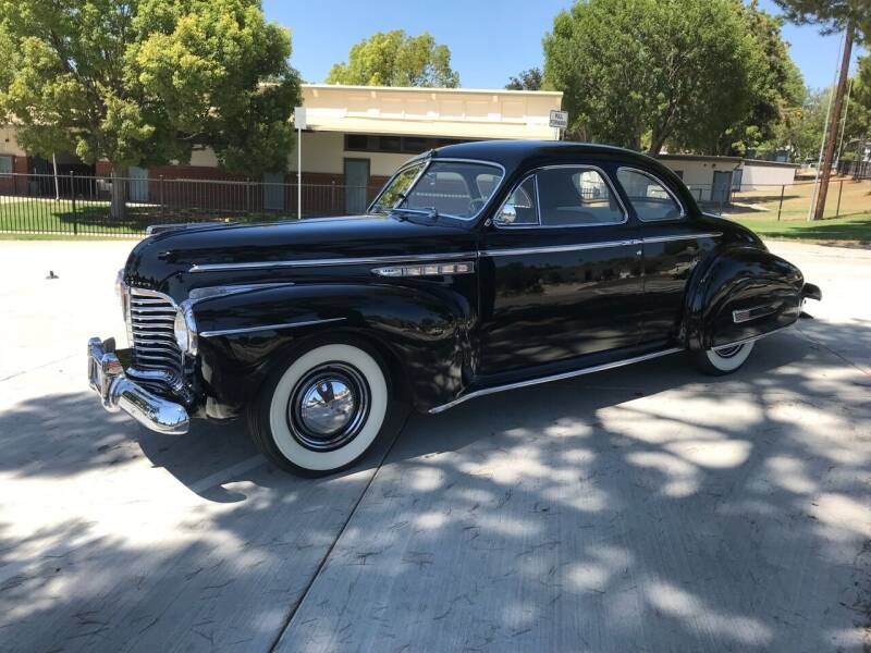 1941 Buick Super 8 Coupe for sale at HIGH-LINE MOTOR SPORTS in Brea CA