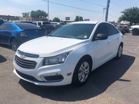 2016 Chevrolet Cruze Limited for sale at ALBUQUERQUE AUTO OUTLET in Albuquerque NM