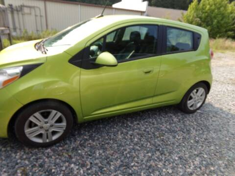 2013 Chevrolet Spark for sale at West End Auto Sales LLC in Richmond VA