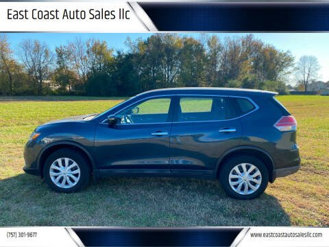 2015 Nissan Rogue for sale at East Coast Auto Sales llc in Virginia Beach VA