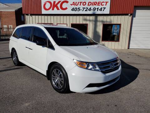2013 Honda Odyssey for sale at OKC Auto Direct in Oklahoma City OK