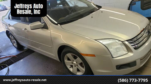 2009 Ford Fusion for sale at Jeffreys Auto Resale, Inc in Clinton Township MI