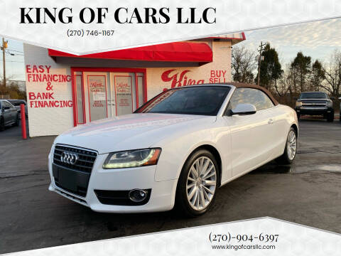 2010 Audi A5 for sale at King of Cars LLC in Bowling Green KY