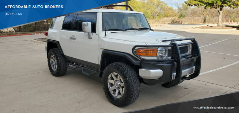 2014 Toyota FJ Cruiser for sale at AFFORDABLE AUTO BROKERS in Keller TX