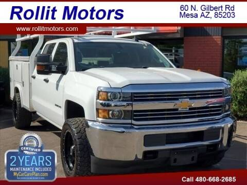 2016 Chevrolet Silverado 2500HD for sale at Rollit Motors in Mesa AZ