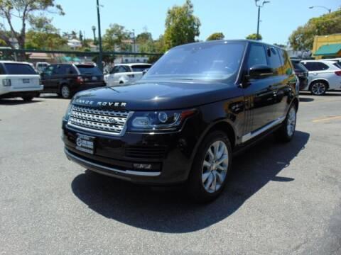 2017 Land Rover Range Rover for sale at Santa Monica Suvs in Santa Monica CA
