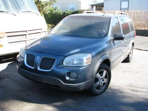 2005 Pontiac Montana SV6 for sale at M&N Auto Service & Sales in El Cajon CA