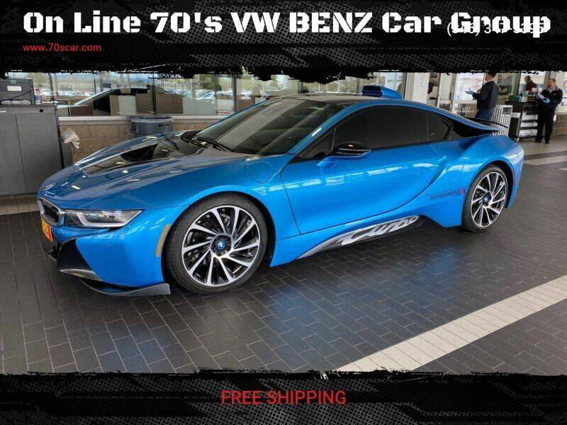 2015 BMW i8 for sale at OnLine VW-BENZ.COM Auto Group in Riverside CA