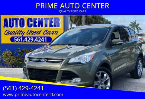 2013 Ford Escape for sale at PRIME AUTO CENTER in Palm Springs FL