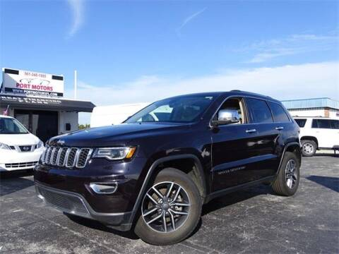 2019 Jeep Grand Cherokee for sale at Port Motors in West Palm Beach FL