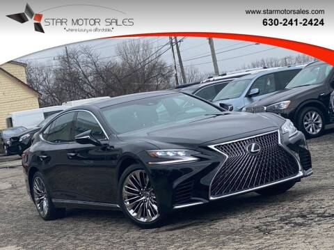 2018 Lexus LS 500 for sale at Star Motor Sales in Downers Grove IL