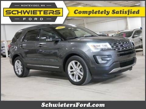 2017 Ford Explorer for sale at Schwieters Ford of Montevideo in Montevideo MN