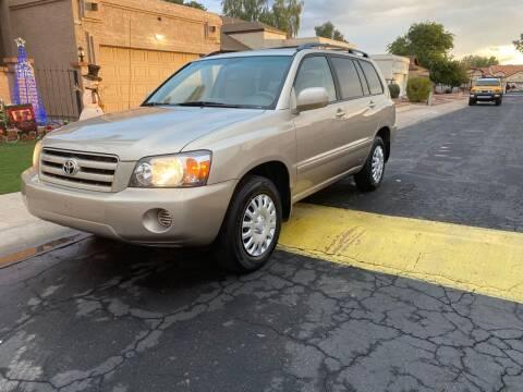 2006 Toyota Highlander for sale at EV Auto Sales LLC in Sun City AZ
