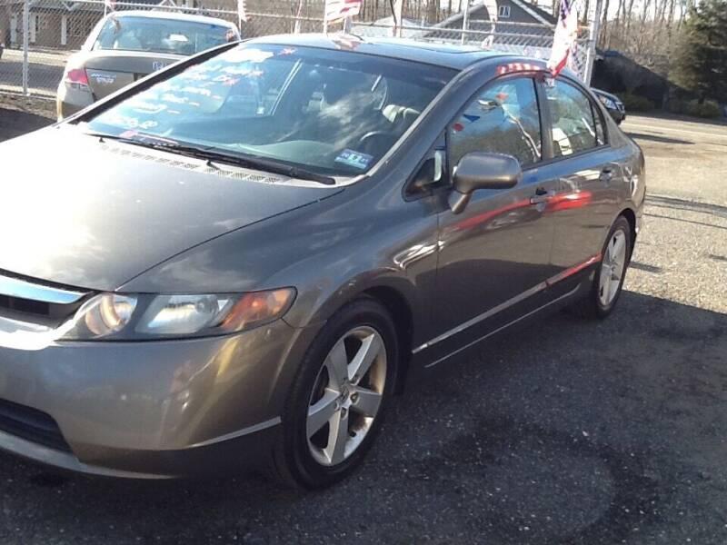 2008 Honda Civic for sale at Lance Motors in Monroe Township NJ