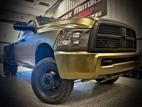 2010 Dodge Ram Pickup 3500 for sale at Carder Motors Inc in Bridgeport WV