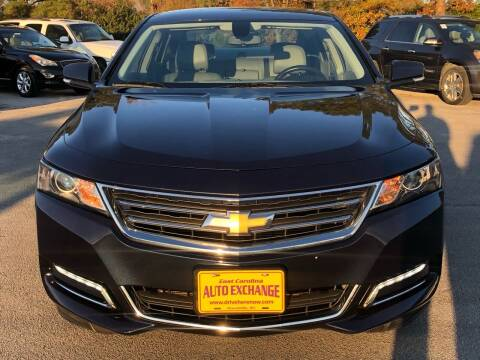 2018 Chevrolet Impala for sale at Washington Motor Company in Washington NC
