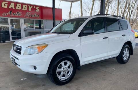 2008 Toyota RAV4 for sale at GABBY'S AUTO SALES in Valparaiso IN