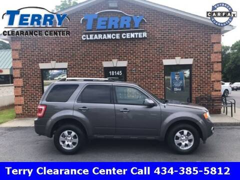 2012 Ford Escape for sale at Terry Clearance Center in Lynchburg VA
