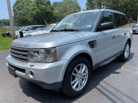 2008 Land Rover Range Rover Sport for sale at GEORGIA AUTO DEALER, LLC in Buford GA