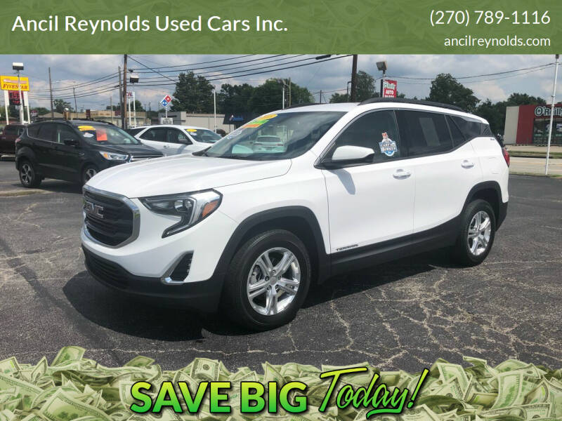 2018 GMC Terrain for sale at Ancil Reynolds Used Cars Inc. in Campbellsville KY