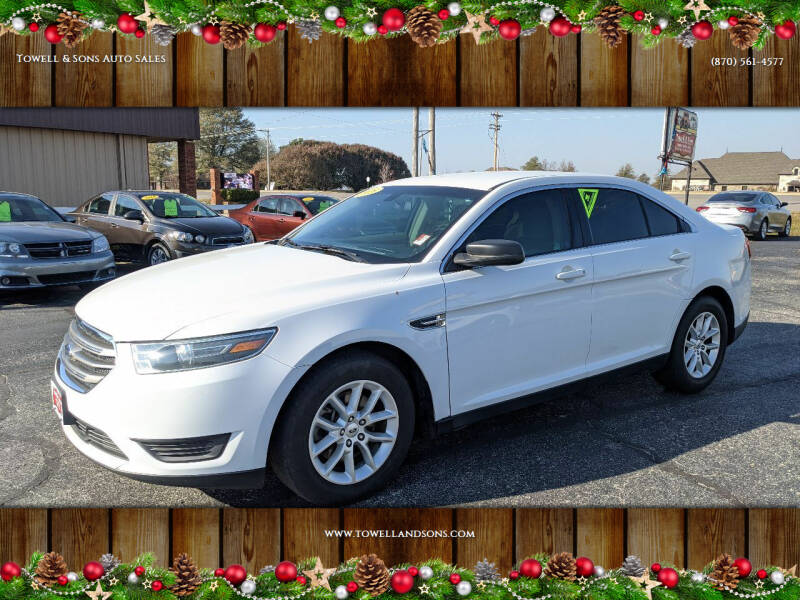2015 Ford Taurus for sale at Towell & Sons Auto Sales in Manila AR