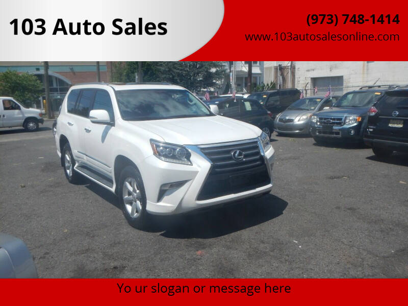2015 Lexus GX 460 for sale at 103 Auto Sales in Bloomfield NJ