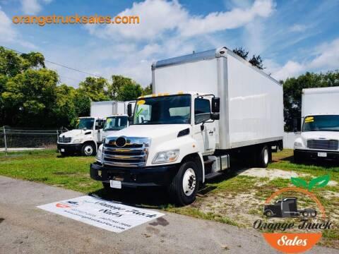 2013 Hino 338 for sale at Orange Truck Sales in Orlando FL