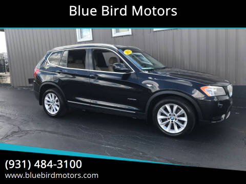 2011 BMW X3 for sale at Blue Bird Motors in Crossville TN