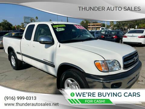 2002 Toyota Tundra for sale at Thunder Auto Sales in Sacramento CA